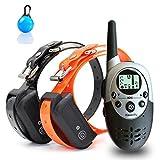 Havenfly Collar de Adiestramiento para Perros à Distance pour Chiens Avec bip, Vibration et...