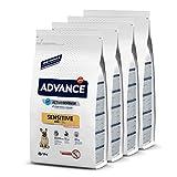 ADVANCE Sensitive Mini - Pienso Para Perros Adultos Con Sensibilidades Digestivas De Razas Pequeñas...